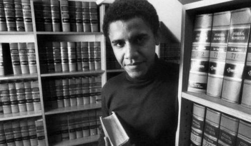 Barak Obama Harvardda, 1990-cı il