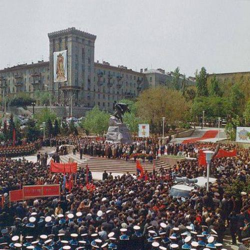 Bakı. 9 May 1977-ci il